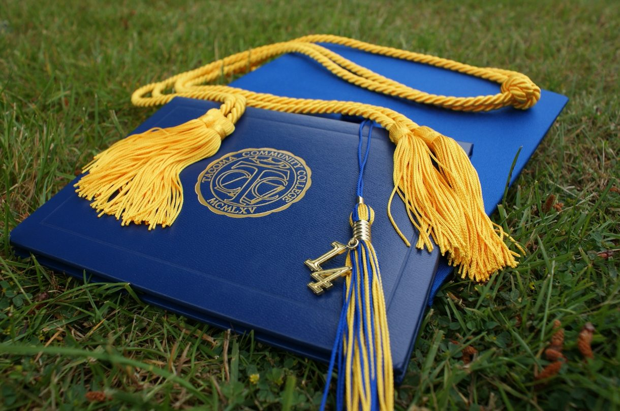 associates, bachelors, masters degree graduation
